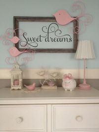 Sweet Dreams Nursery Vinyl Wall Decal by TheDecalGirl on ...
