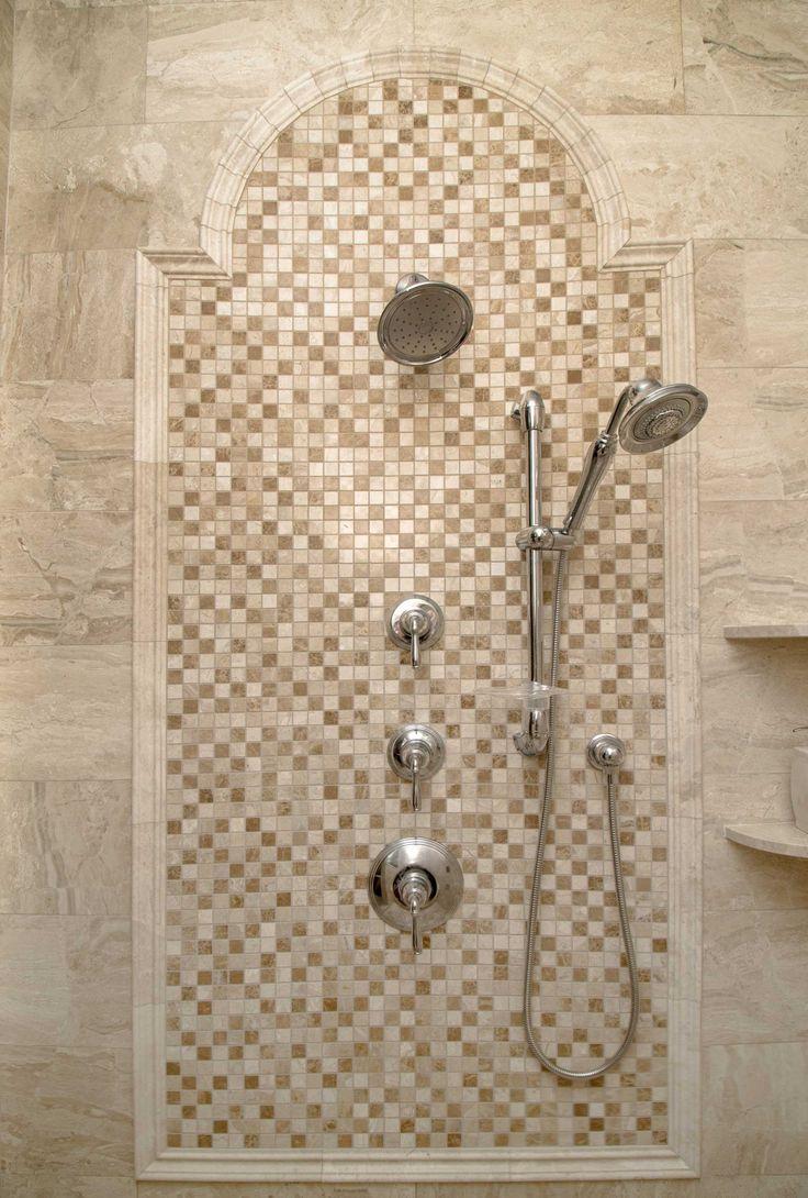 This bathroom is a wonderful showcase of Diana Royal