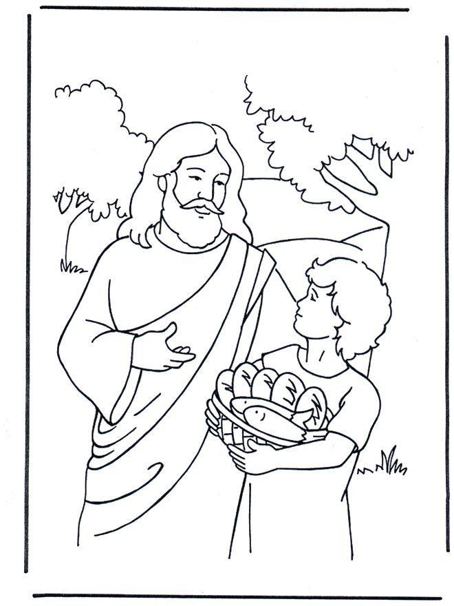 17 Best ideas about Jesus Feeds 5000 on Pinterest