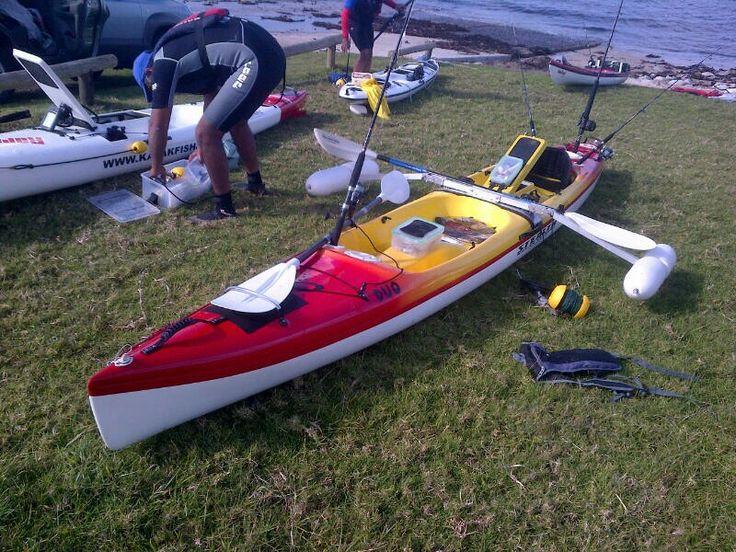 Kayak accessories pontoons kayak angling accessories