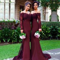 25+ best ideas about Maroon bridesmaid dresses on ...