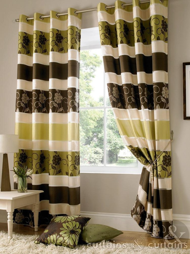 Jasmine Chocolate Brown Taffeta Eyelet Curtain  Curtains UK 56 pounds I dont know what that