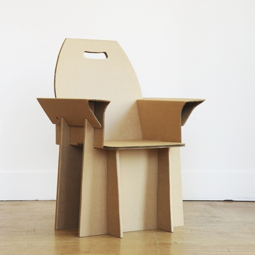 Cardboard Ecologic Armchair  Sit On It  Pinterest