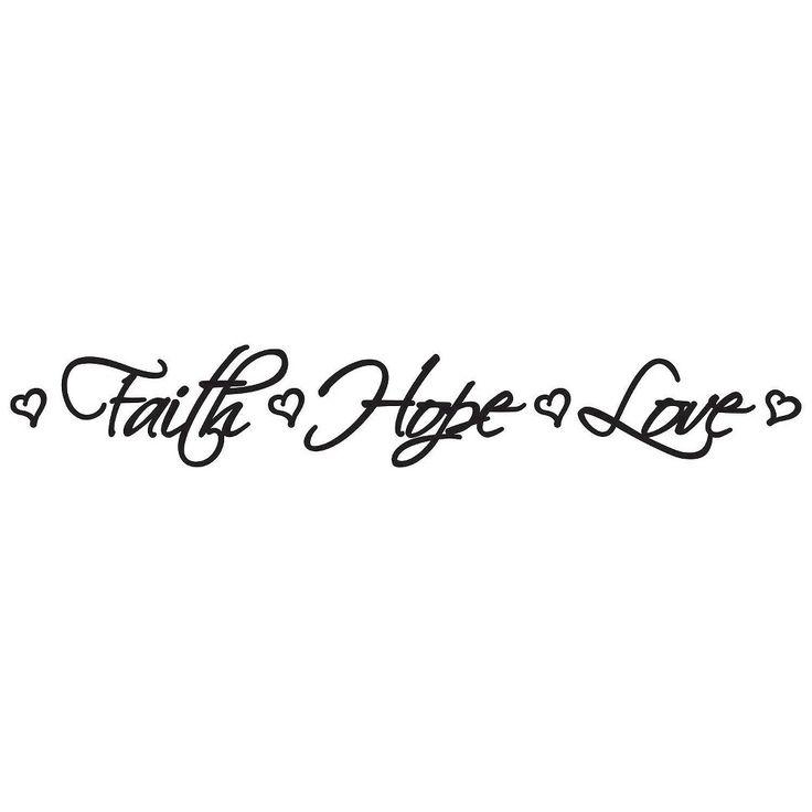 1000+ ideas about Faith Hope Love on Pinterest