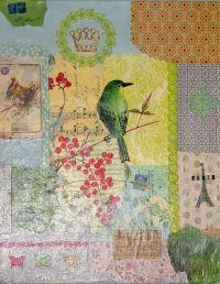 Decoupage wall art | Decoupage | Pinterest | Crafts, Arts ...
