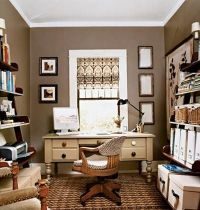 dens/libraries/offices - Brown, Neutral, Home Office, aupe ...
