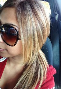 caramel hair with blonde highlights | hair | Pinterest ...