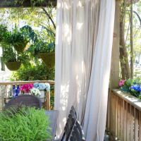 25+ best ideas about Balcony privacy on Pinterest | Garden ...