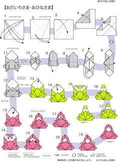 cool modular origami diagram monitor versus merrimack おりがみ畑折り紙教室 おひなさまの折り方折り図|神奈川折り紙箸袋協会 おりがみ畑 | 月 行事 壁飾り pinterest