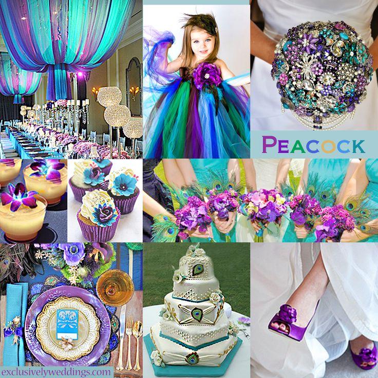 Gallery June Wedding Colors Peacock