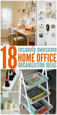 25+ best ideas about Home office organization on Pinterest ...