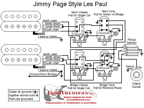 push pull guitar wiring diagrams