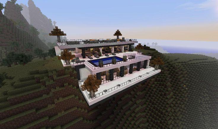 1000 Ideas About Minecraft Mansion On Pinterest