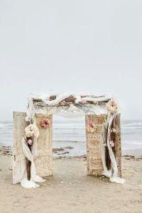 Shabby chic beach wedding | Beach ideas | Pinterest