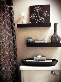 25+ Best Ideas about Bathroom Shelves Over Toilet on ...
