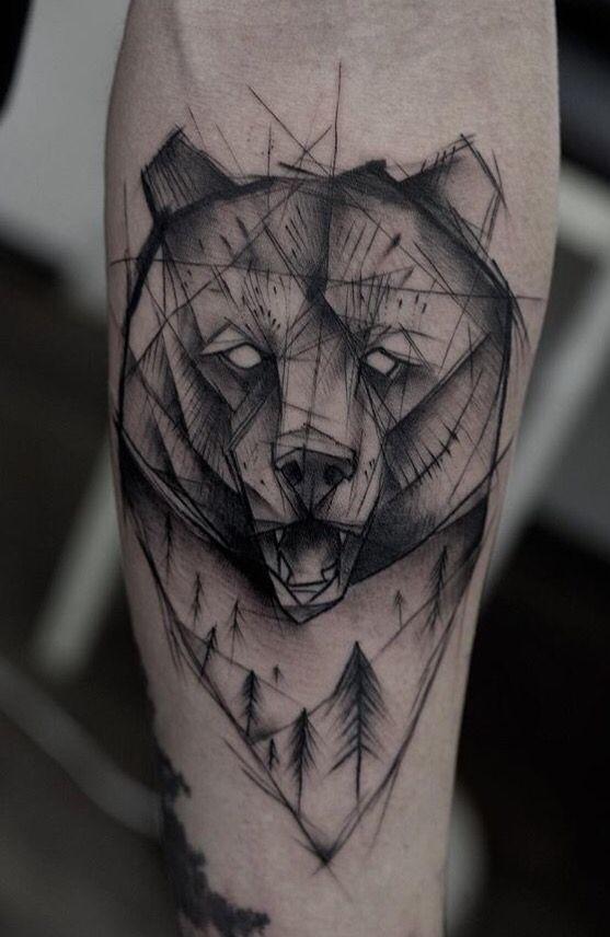 ideas bear sketch