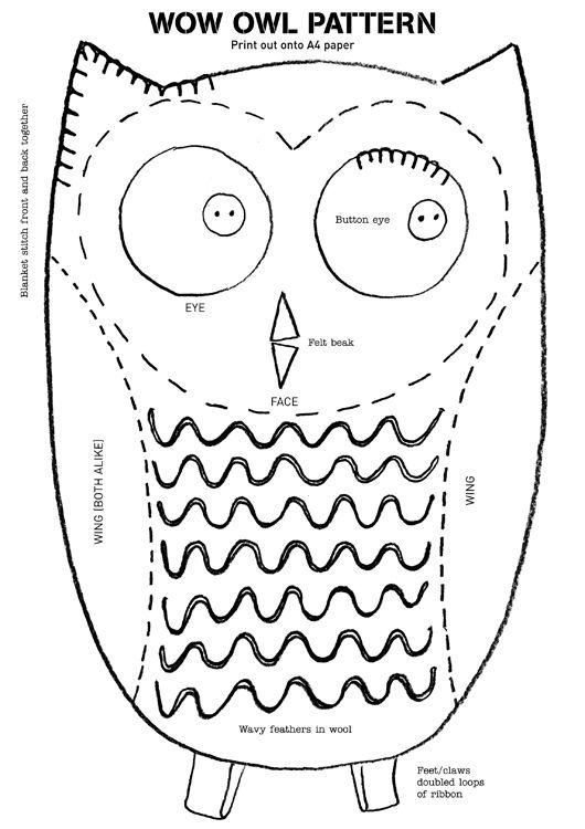 17 beste afbeeldingen over OWL TEMPLATES op Pinterest