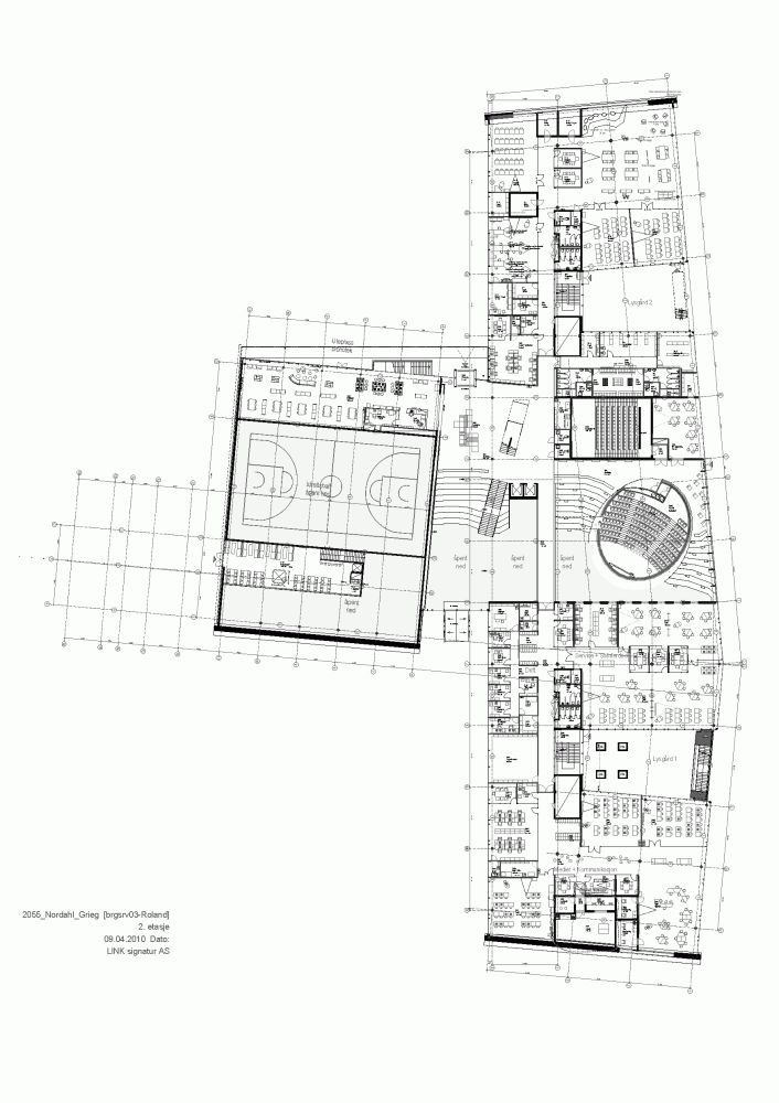 Gallery of Nordahl Grieg High School / LINK arkitektur