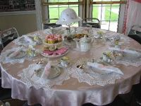 Tea Party & Table Setting information... http://www ...