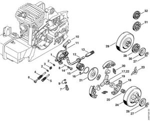 Stihl 029 Parts Diagram Super Have Had It Worked On 3