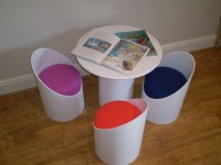 136 best images about Kiddie Tables & Chairs on Pinterest