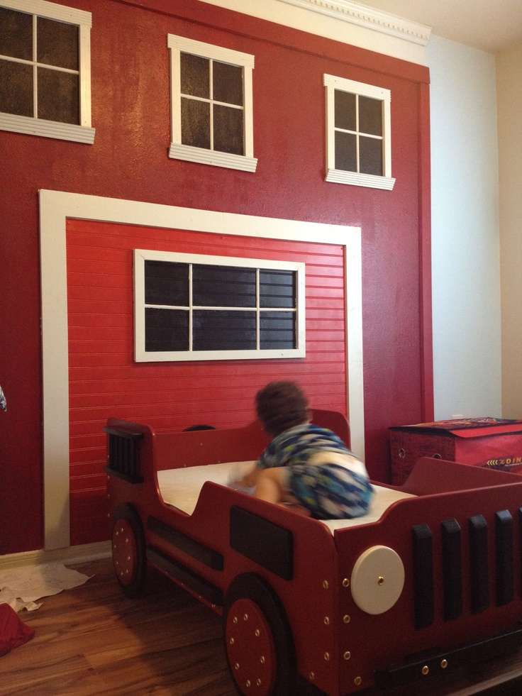 17 Best Images About Michaels Fire Station Room On