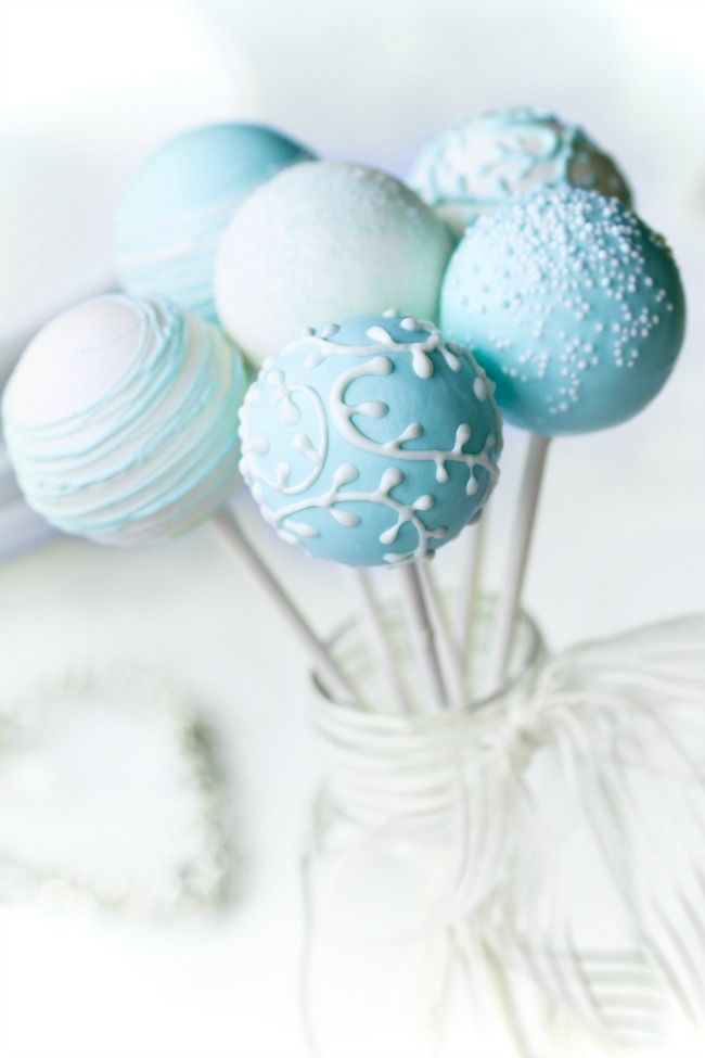 25 best ideas about Blue Cake Pops on Pinterest  Cake pops near me Cakepops and Baby shower foods