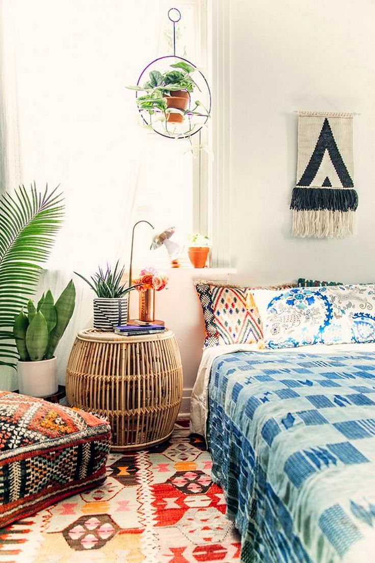 25 best ideas about Bohemian style bedrooms on Pinterest