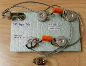 NEW Guitar Wiring Harness for Epiphone Casino Dot 335 CTS