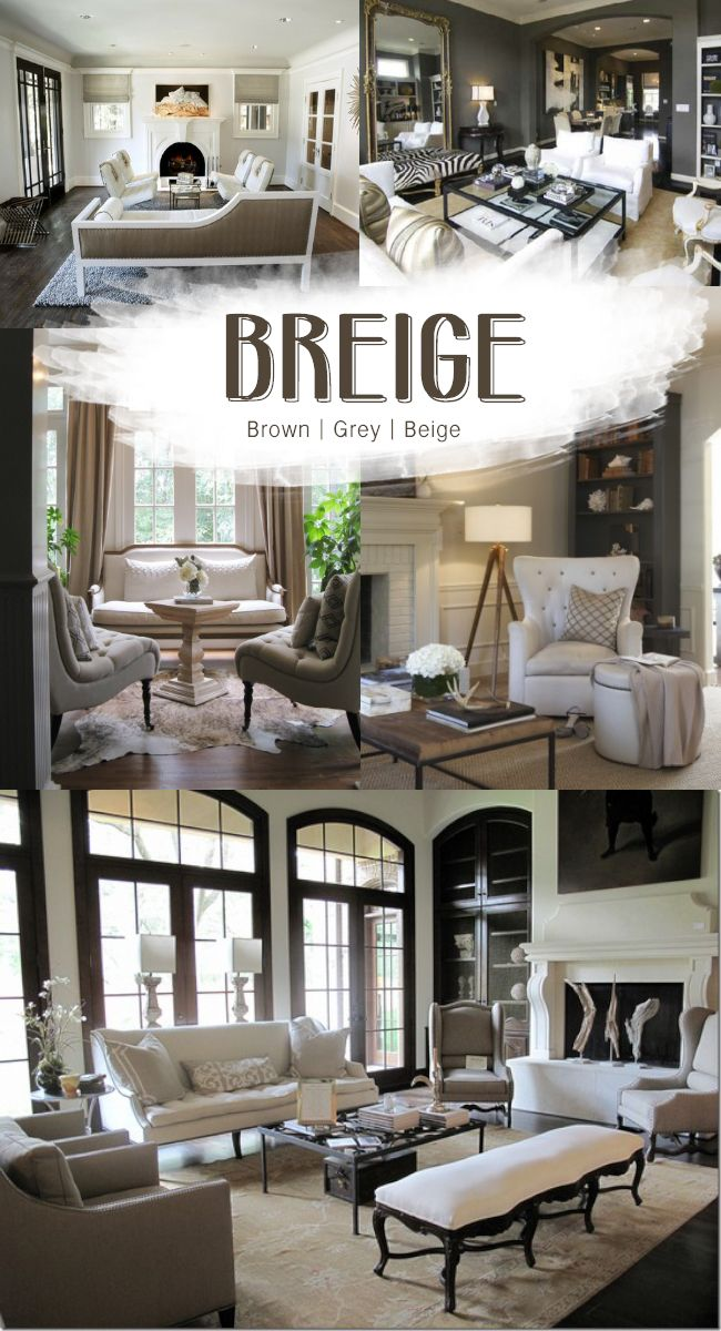BREIGE – brown, grey and beige….sometime soon I need to say goodbye to my yellow