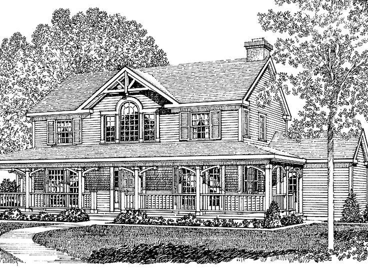 824918e6160d9c43759e4edd20d7cc34 farmhouse style house plan 4 beds 3 baths 2553 sq ft plan 137 252,House Plan 137 252