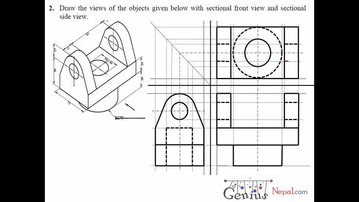 183 best images about Engineering Drawing on Pinterest
