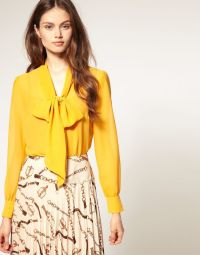 Rotating Bow Tie Watch at ASOS | Bow tie blouse, Yellow ...