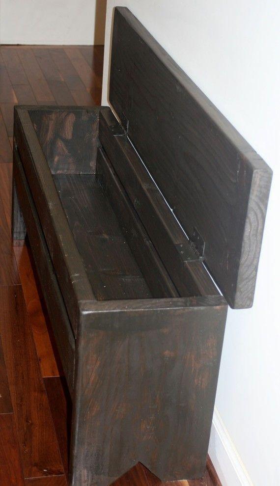 4 foot Narrow Trunk  Storage Bench  Trunks Storage