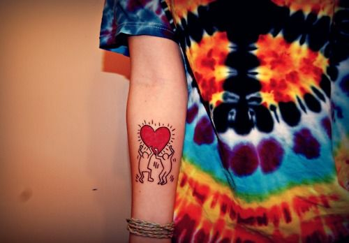 46 Best Images About Keith Haring Tattoo On Pinterest