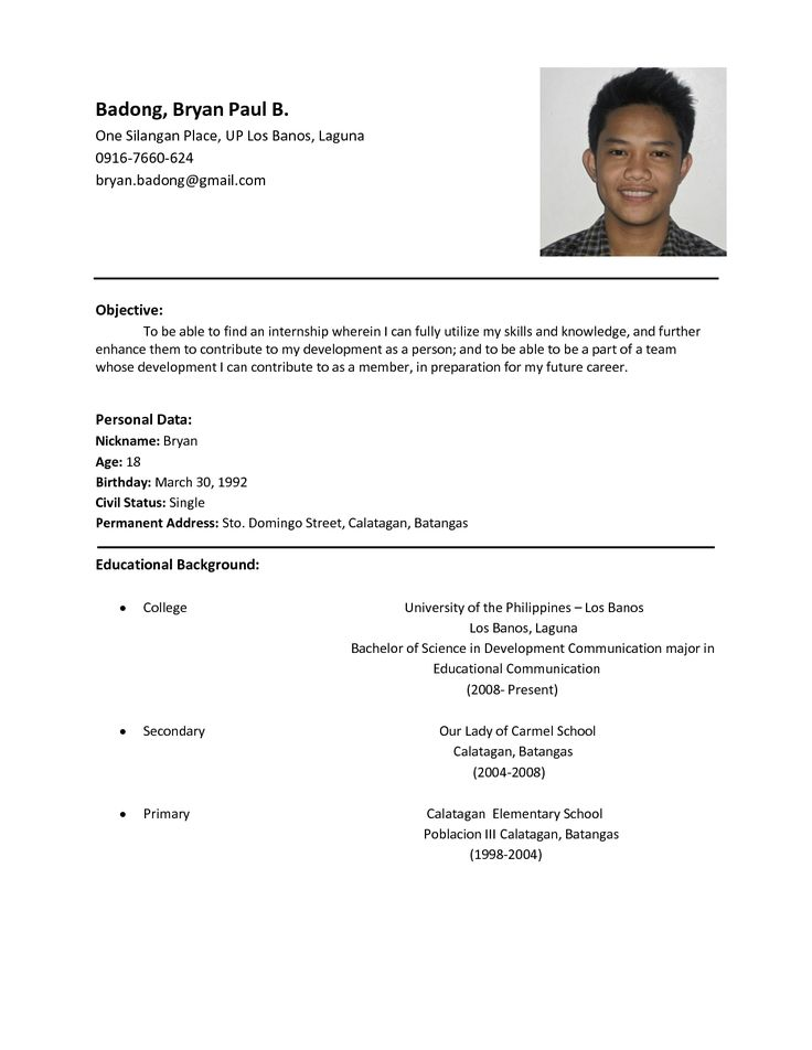 Resume Format And Example Functional Resume Template Example