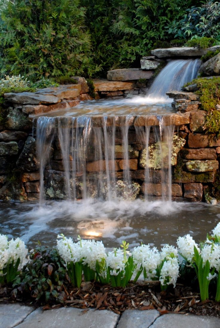 25 Best Ideas About Backyard Waterfalls On Pinterest Small