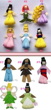 cute handmade disney princess hair