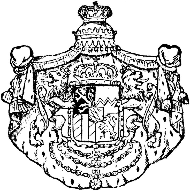 Wolf Head Coat Of Arms