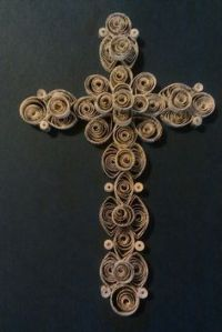 17+ best images about LOVELY DIY DECORATIVE CROSS on ...