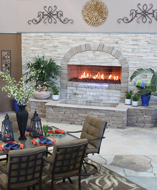 Fireplace Appealing Isokern Fireplace For Interior And Outdoor 17 Best Images About Outdoor Living Spaces On Pinterest