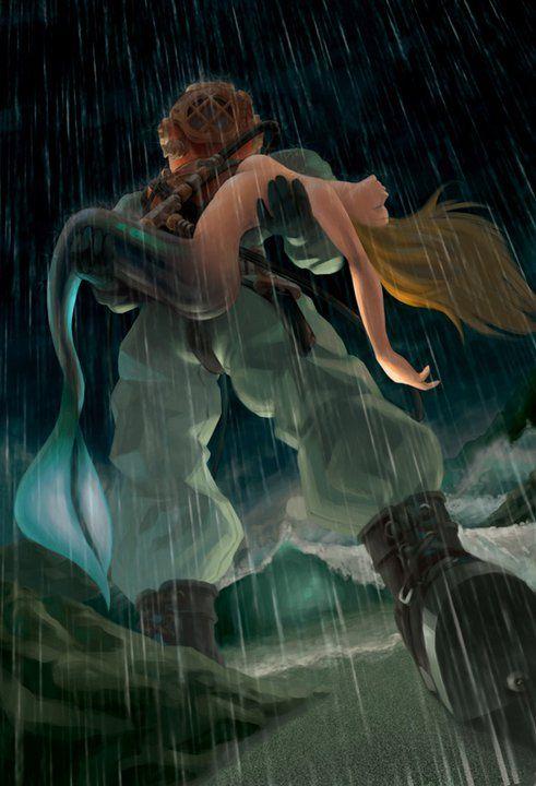 Tank Girl Wallpaper Movie Diver Saving A Mermaid Because You Saved Me In More Ways