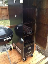 17 Best ideas about Filing Cabinet Smoker on Pinterest