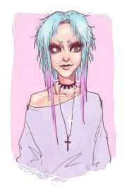 pastel goth kawaii grunge cryst4lm3th