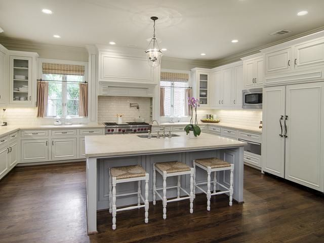 Brilliant Interior House Tour  nice kitchen island and range hood style  For the Love of a
