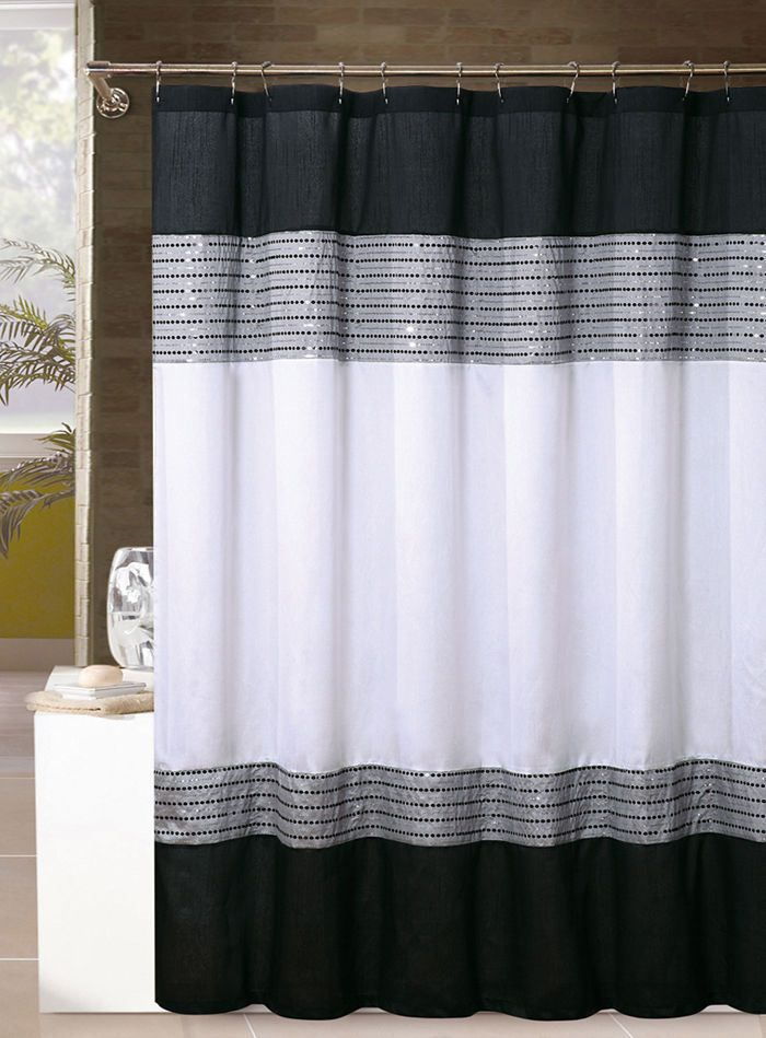 The 25 Best Ideas About Fabric Shower Curtains On Pinterest
