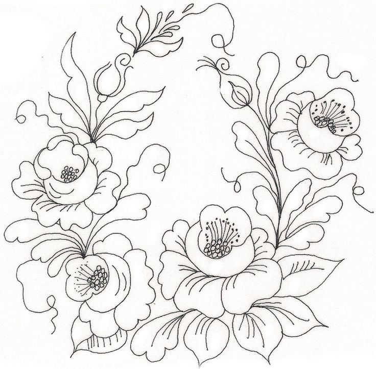 4920 best images about Embroidery patterns on Pinterest