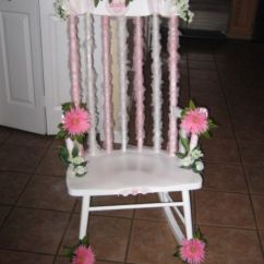 Midcentury Rocking Chair Race Office Baby Shower Decorated | My Diy Party Decor Pinterest