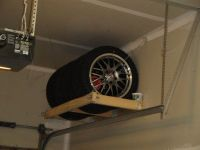 Bench Guide: Share Diy tire rack for garage