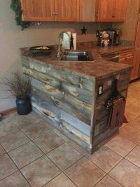 25+ best ideas about Pallet Kitchen Cabinets on Pinterest ...